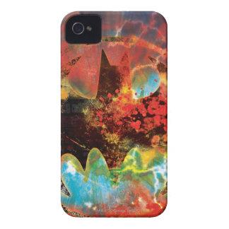 Cataclysmic Bat Logo iPhone 4 Covers