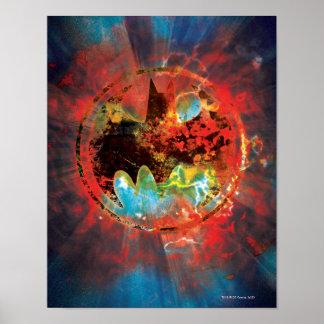 Cataclysmic Bat Logo Posters