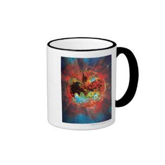 Cataclysmic Bat Logo Ringer Mug