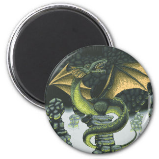 Catacomb Dragon Magnet