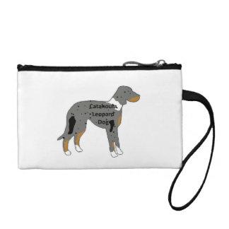 catahoula leopard dog name silo color coin purse