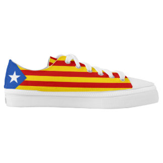 Catalan Flag Catalonia Low Tops