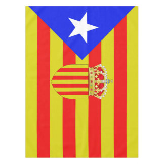 Catalan flag tablecloth