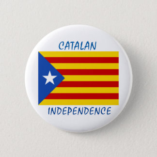 Catalan Independence 6 Cm Round Badge