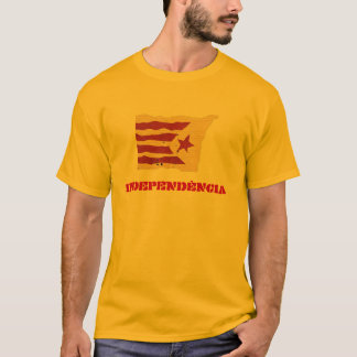 Catalan Independence (Mens/Unisex) T-Shirt