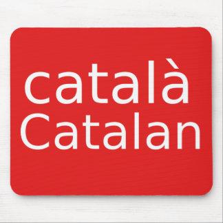 Catalan Language Design Mouse Pad
