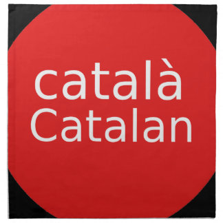 Catalan Language Design Napkin