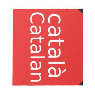 Catalan Language Design Notepad