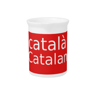 Catalan Language Design Pitcher
