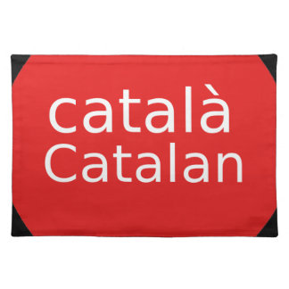 Catalan Language Design Placemat