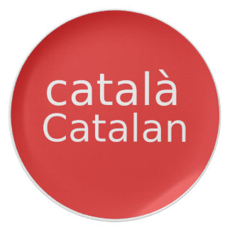 Catalan Language Design Plate