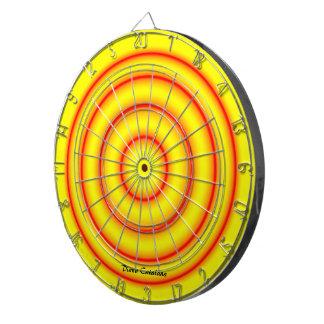 Catalan morning call dartboard