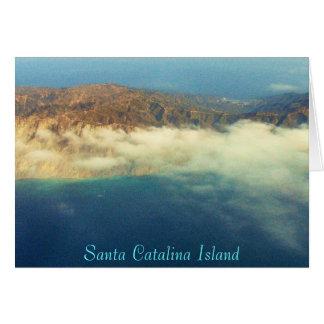 Catalina Behind Avalon, Santa Catalina Island Card
