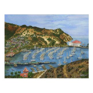 Catalina Island, CA - Mini Collectible Prints Postcard