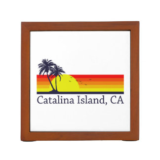Catalina Island California Desk Organiser