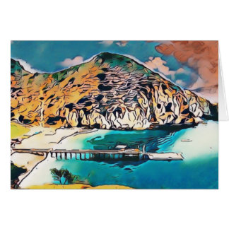 Catalina Island Camp Fox Card 001