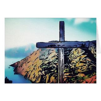 Catalina Island Camp Fox Card 002 Bible Peak