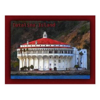 Catalina Island, Casino Postcard
