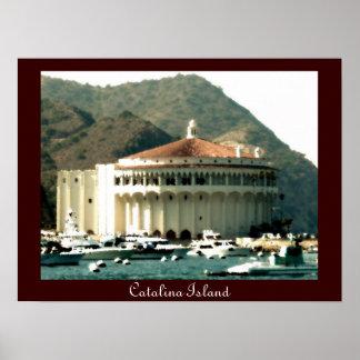 Catalina Island Casino Print