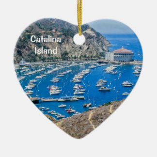 Catalina Island Ceramic Ornament