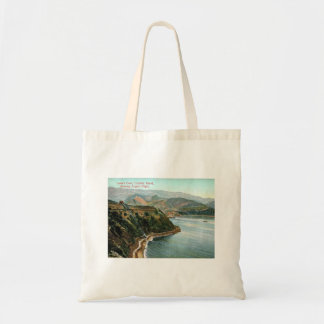 Catalina Island, Lover's Cove, California Vintage Tote Bag