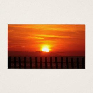 Catalina Island Sunset view along PCH -California Business Card