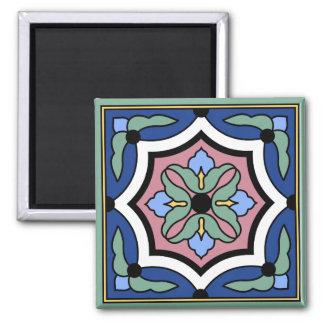 Catalina Island Vintage Tile Design Magnet