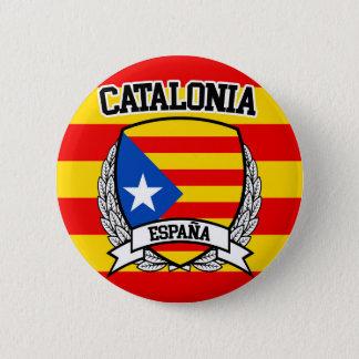 Catalonia 6 Cm Round Badge