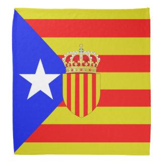 Catalonia flag bandana