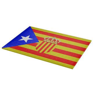 Catalonia flag cutting board