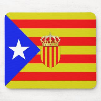 Catalonia flag mouse pad