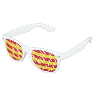 Catalonia Flag Retro Sunglasses
