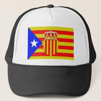 Catalonia flag trucker hat