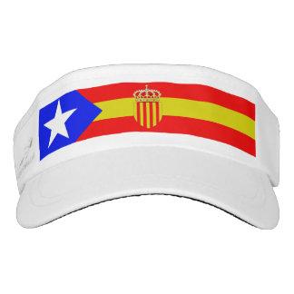 Catalonia flag visor