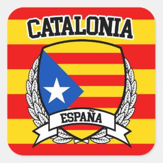 Catalonia Square Sticker