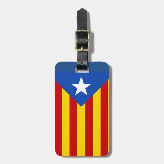 Catalonia suitcase Identification worldwide Luggage Tag