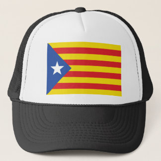 Catalonia  (The Blue Starred Flag) Trucker Hat
