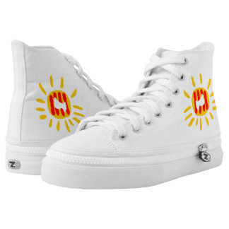 Catalunya Sol i colom pau Zipz High Top Shoes