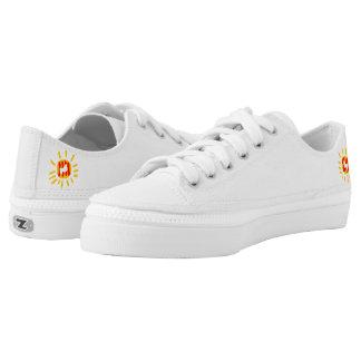 Catalunya sun amb colom pau Zipz Low Top Shoes,