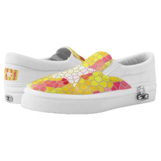 Catalunya trencadis Zipz Slip On Shoes