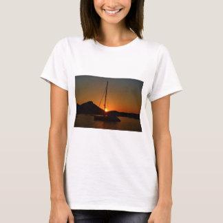 Catamaran at sunset Ibiza.JPG T-Shirt