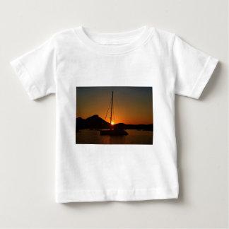 Catamaran at sunset Ibiza.JPG Tshirts