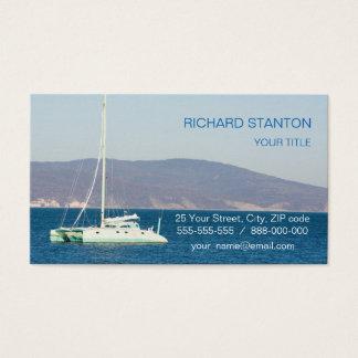 Catamaran Business Card