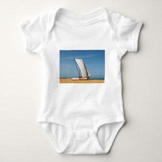 Catamaran, Negombo Beach, Sri Lanka Baby Bodysuit