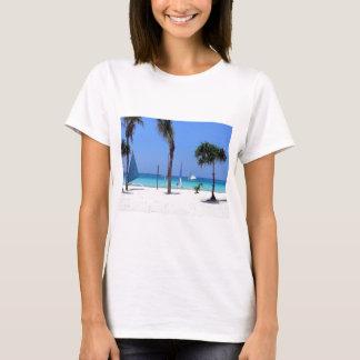 Catamaran on the Beach - Sunny Day T-Shirt