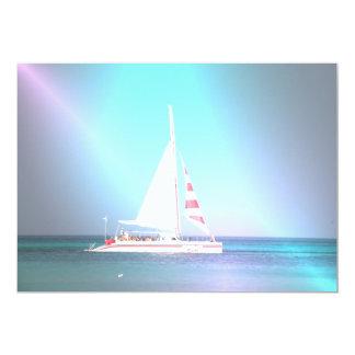 Catamaran Sailboat Invitation