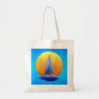 Catamaran Sailing Tote Bag