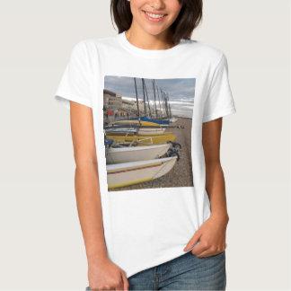 Catamarans On The Beach T Shirt
