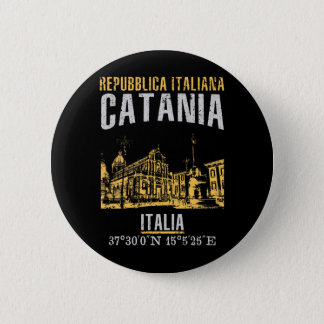 Catania 6 Cm Round Badge
