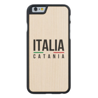 Catania Italia Carved® Maple iPhone 6 Slim Case